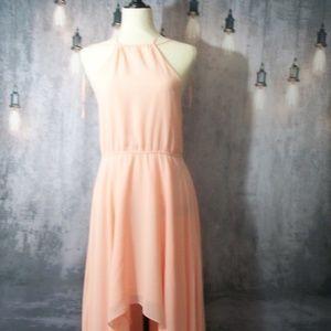 Haute Hippie Pink High Low Sun Dress Size Small